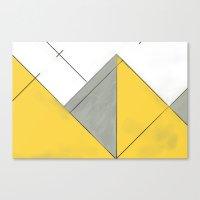 Sketch. (Nile #1) Canvas Print