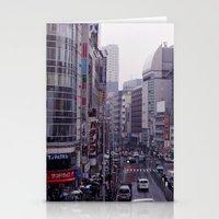 Shinjuku Skyline Stationery Cards