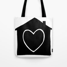 Home is where the heart is Tote Bag