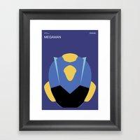 Poster Nintendo Megaman Framed Art Print