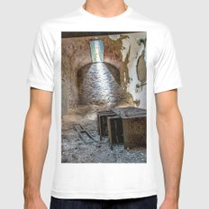 Filed To Death Mens Fitted Tee White SMALL