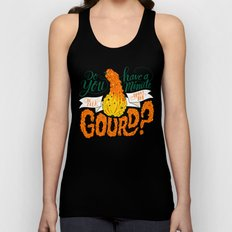 A Minute for the Gourd Unisex Tank Top