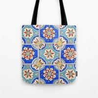 Italian Tiles Tote Bag