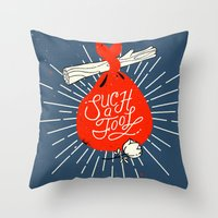 Such A Fool Throw Pillow