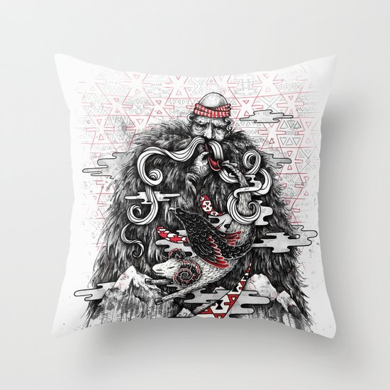 Call of Tradition Throw Pillow