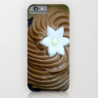 iPhone & iPod Case featuring Chocolate cupcake by Aliina Ross