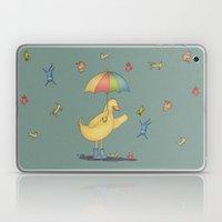 It's raining cats and dogs Laptop & iPad Skin