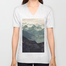 Mountain Fog Unisex V-Neck