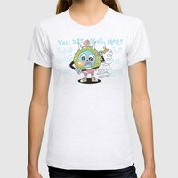 You are Worth More Womens Fitted Tee Ash Grey SMALL