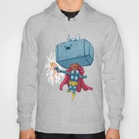 The Mighty Mjolnir Hoody