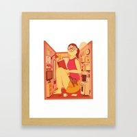 A Room of One's Own Framed Art Print