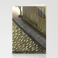 Old quarters Stationery Cards