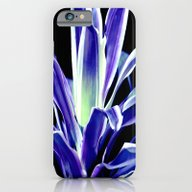 Indigo Blue Flower iPhone 6 Slim Case