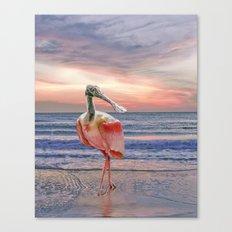Beachcombing Canvas Print