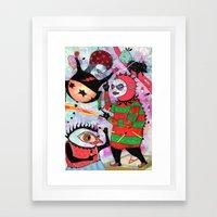 High We Are Framed Art Print