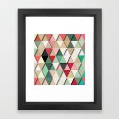 Ice-Cream Days No. 3 Framed Art Print