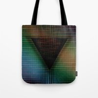 My Mysterious Friend, the Triangle Tote Bag