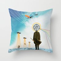 Purification Throw Pillow