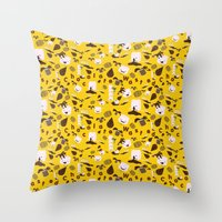 Chocolate Wasted Pattern Throw Pillow