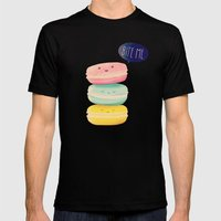 Bite Me Mens Fitted Tee Black SMALL