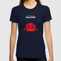Hellboy Womens Fitted Tee Navy SMALL