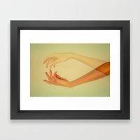 Finger Tips Framed Art Print