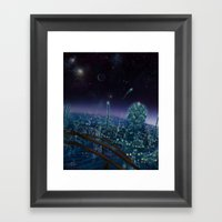 Living On Antaries - Ver… Framed Art Print