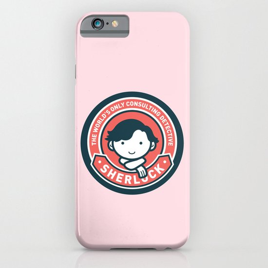 Sherlock - Cute Sherlock Holmes in Red iPhone & iPod Case