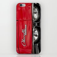 1969 Red Chevrolet Chevelle Car iPhone & iPod Skin