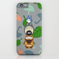 iPhone & iPod Case featuring Troll Totem 4x6 by Canis Picta