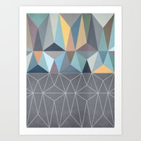 Nordic Combination 31 Art Print