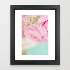 Happiness held is the seed; Happiness shared is the flower.  Framed Art Print