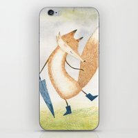 It stopped raining, Mr Fox iPhone & iPod Skin