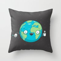 Alearth Throw Pillow