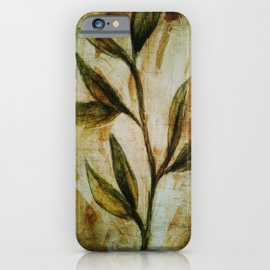 Old Vines Mixed Media iPhone & iPod Case