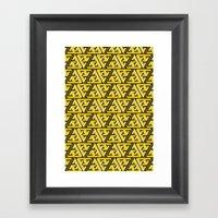 Impossible Trinity Framed Art Print
