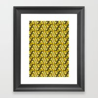 Impossible Trinity Framed Art Print
