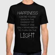 Harry Potter Albus Dumbledore Quote Mens Fitted Tee Black SMALL