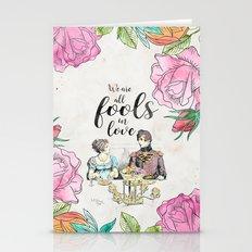 Pride And Prejudice - Fo… Stationery Cards