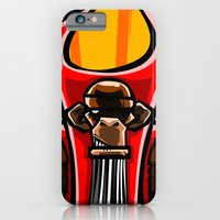 iPhone & iPod Case featuring Winged Primate  by Dangerous Monkey
