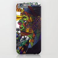 iPhone & iPod Case featuring Psychoactive Bear 8 by Hazeart