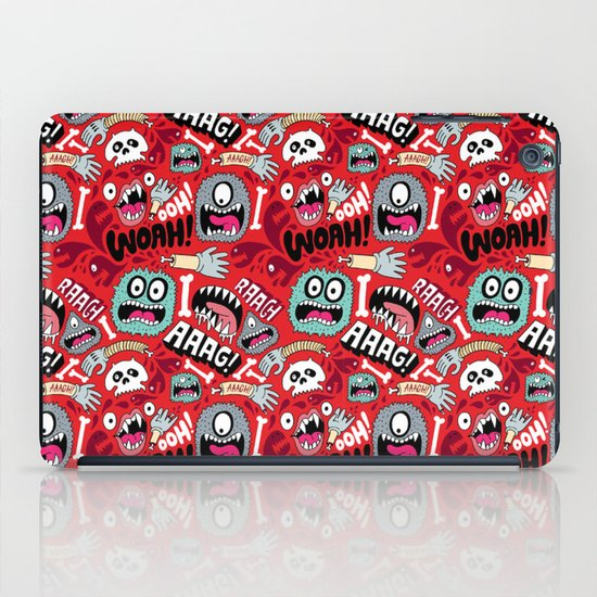AAAGHHH! PATTERN! iPad Case