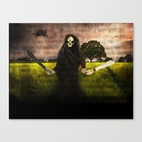 Death loves you Canvas Print