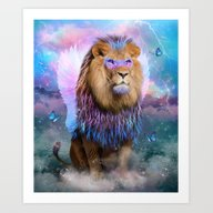 Art Print featuring The Strongest Souls Emer… by Soaring Anchor Desig…