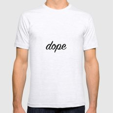Dope Mens Fitted Tee Ash Grey SMALL