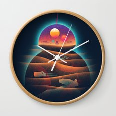Droid-land Wall Clock