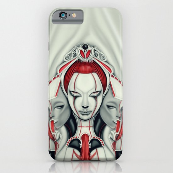 Behind the Curtain iPhone & iPod Case