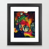 Casi Llego Framed Art Print
