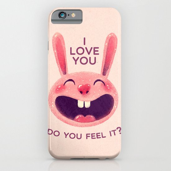 Bunny with love iPhone & iPod Case