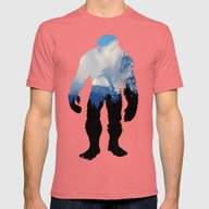 Rolling Over The Peak Mens Fitted Tee Pomegranate SMALL